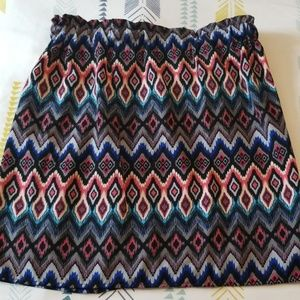 Franchescas | patterned skirt